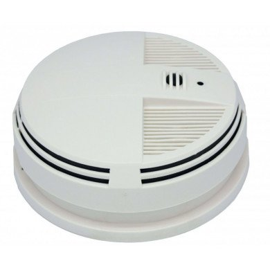 Zone Shield Wi-Fi Night Vision Smoke Detector (Side View)
