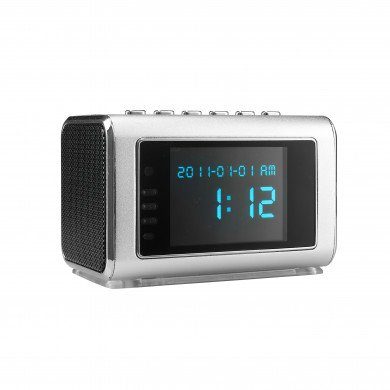 Mini Clock Radio Night Vision Hidden Camera