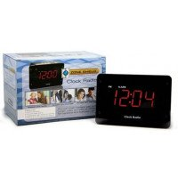 HD Zone Shield Night Vision Clock Radio