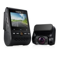 A129 Duo Wi-Fi Full HD Dual Facing Dash Camera with GPS Logger